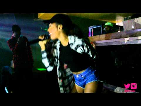 Dawn Richard performing 'Bombs' and 'Professional' Live!