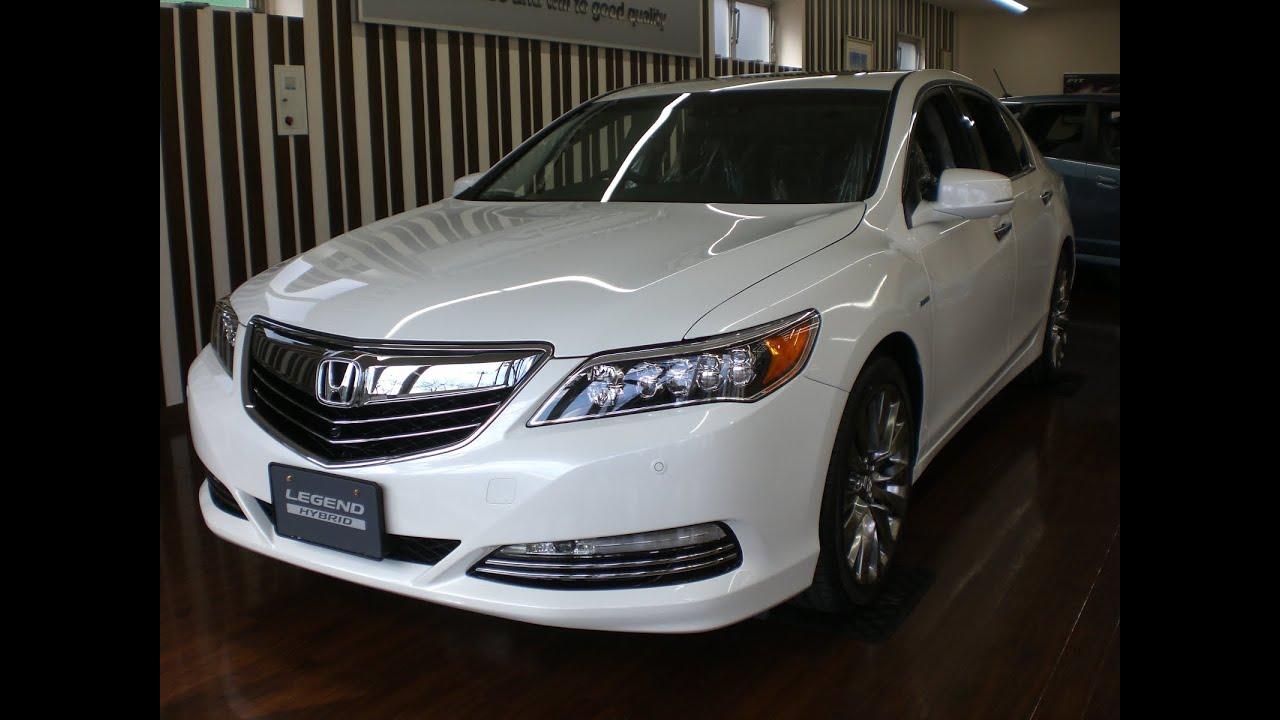 新型ホンダレジェンド ハイブリッドEX 2015(New Honda LEGEND Hybrid EX 2015 ...