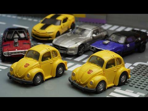 Bumblebee Yellow Car - Transformers Stop Motion Dropkick, LEGO, Truck Car Robot Toys