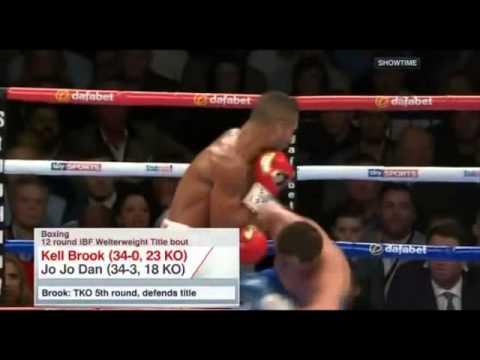 Kell Brook VS  Jo Jo Dan | ESPN Boxing | Showtime | Brian Campbell | ESPN.com | ESPN Boxing