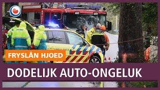 REPO: Twee mensen overleden bij auto-ongeluk Lippenhuizen