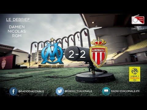 Le Débrief - Ligue 1 - J23 Marseille-Monaco (2-2)