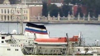 Video Russian Navy Northern Fleet Cargo Ship Yauza on the Bosphorus download MP3, 3GP, MP4, WEBM, AVI, FLV September 2018