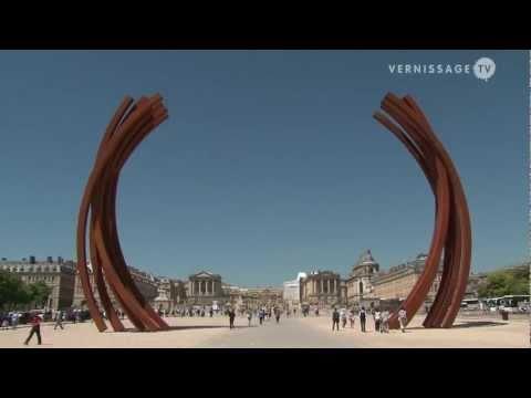 Bernar Venet at Versailles