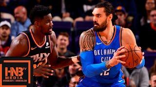 Oklahoma City Thunder vs Phoenix Suns Full Game Highlights | 11.17.2018, NBA Season