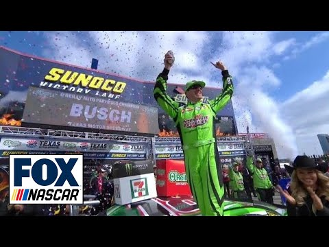 Kyle Busch nabs first season win | 2018 TEXAS MOTOR SPEEDWAY | FOX NASCAR