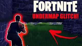 Fortnite Battle Royale Under Map Glitch Xboxone PS4 PC How To Get Under The Map hacks cheats