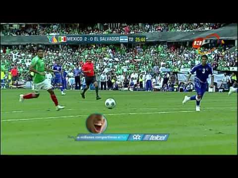 Mexico Vs El Salvador Gol de Cuauhtemoc en HD