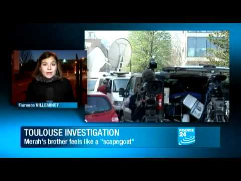 Brother of Toulouse gunman under formal investigation