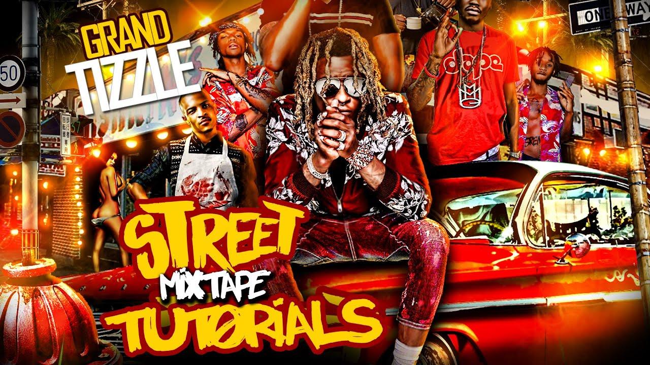 Adobe photoshop cs6 mixtape cover art graphic design expert adobe photoshop cs6 mixtape cover art graphic design expert tutorials party flyers posters 2 youtube baditri Choice Image