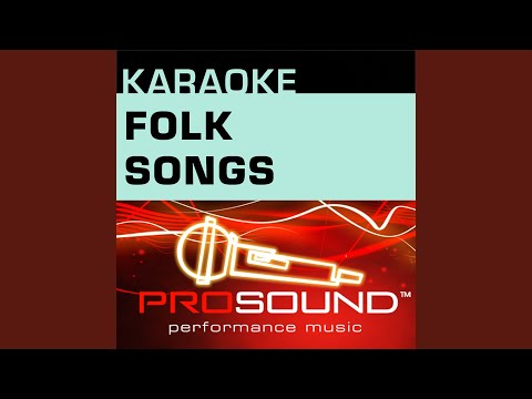 Tom Dooley (Karaoke Lead Vocal Demo) (In the style of Traditional)