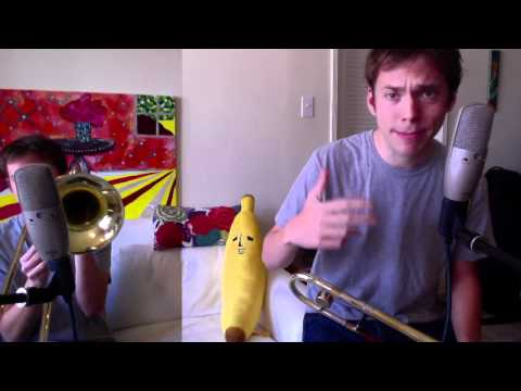 Gym Class Heroes - Stereo Hearts Cover - Paul The Trombonist