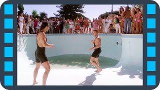 Бой с бразильцем в бассейне — Самоволка (1990) сцена 5/7 HD
