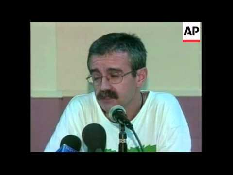 Aid agency presser, denies accusations of ETA links