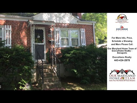 10503 HUNTLEY PLACE, SILVER SPRING, MD Presented by Our Maryland Home Team of ExecuHome Realty -