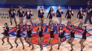 Knicks City Dancers 11/9/16