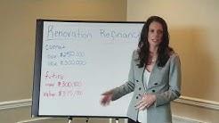 Renovation loan refinance