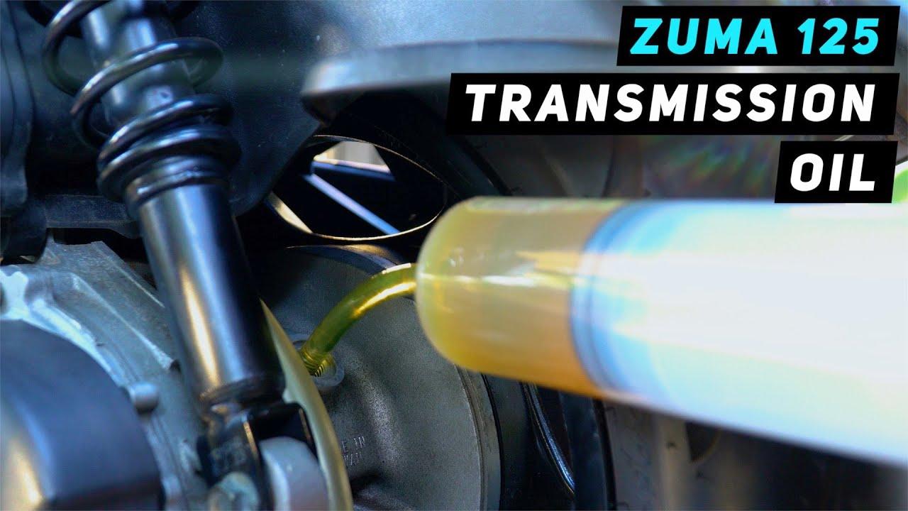 Yamaha Zuma / BWS 125 Transmission Gear Oil Change | Mitch's Scooter Stuff