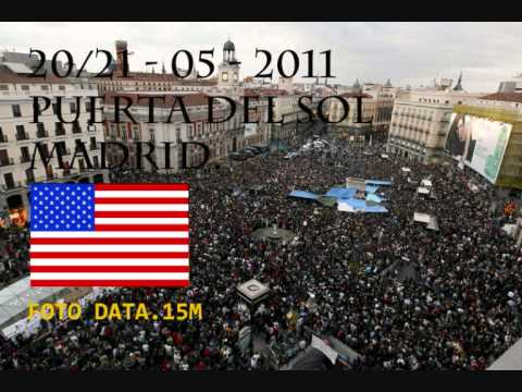 American Revolution. Young American Student Interview in Puerta del Sol.SPAIN.wmv