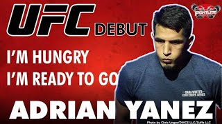 Fightlete.com Interview with UFC Vegas 12 Bantamweight Adrian Yanez