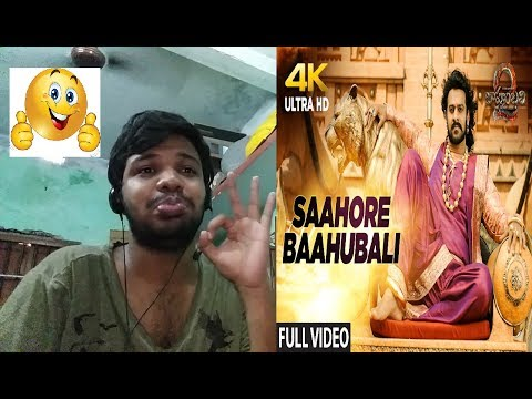 Saahore Baahubali Song-Baahubali 2-The Conclusion|Prabhas,Ramya Krishnan|Reaction(EPIC)