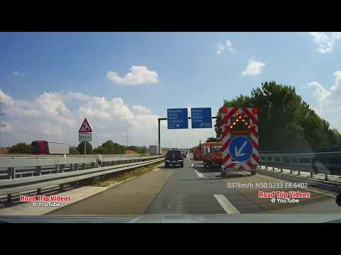 From Giessen To Frankfurt / Main Over The Highway