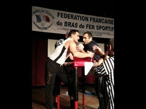 Championnat France de bras de fer sportif _ Paris - Velizy Villacoublay 03/03/2018