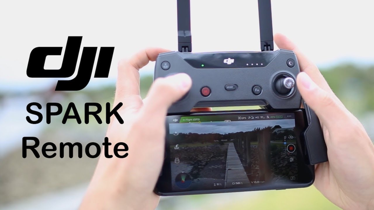 1878c9c2472 Review: Remote for DJI Spark — is it worth it? - YouTube
