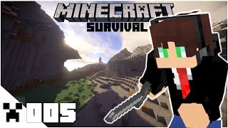 Minecraft Survival Ep.005 | A Brand New Home