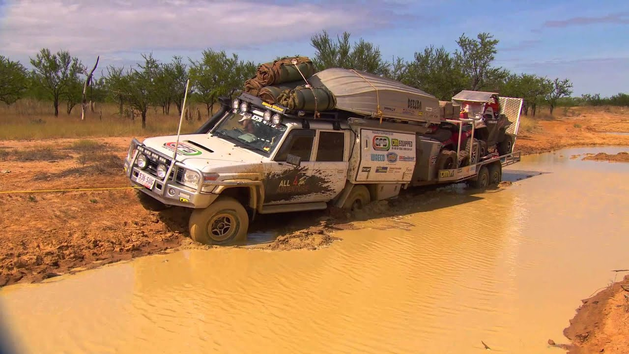 Toyota Land Cruiser Hd Wallpaper Simon Gets Bogged At Escott Station All 4 Adventure Tv