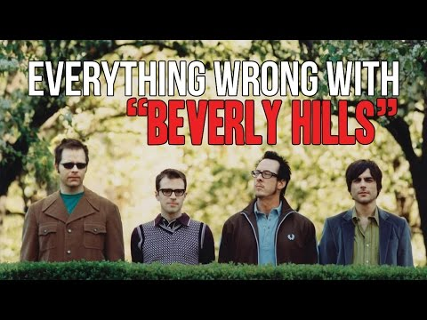 "Everything Wrong With Weezer - ""Beverly Hills"""