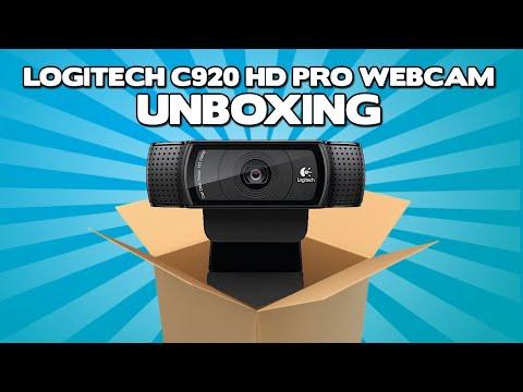 UNBOXING + Review WebCam Logitech C920 - A WebCam dos streamers!