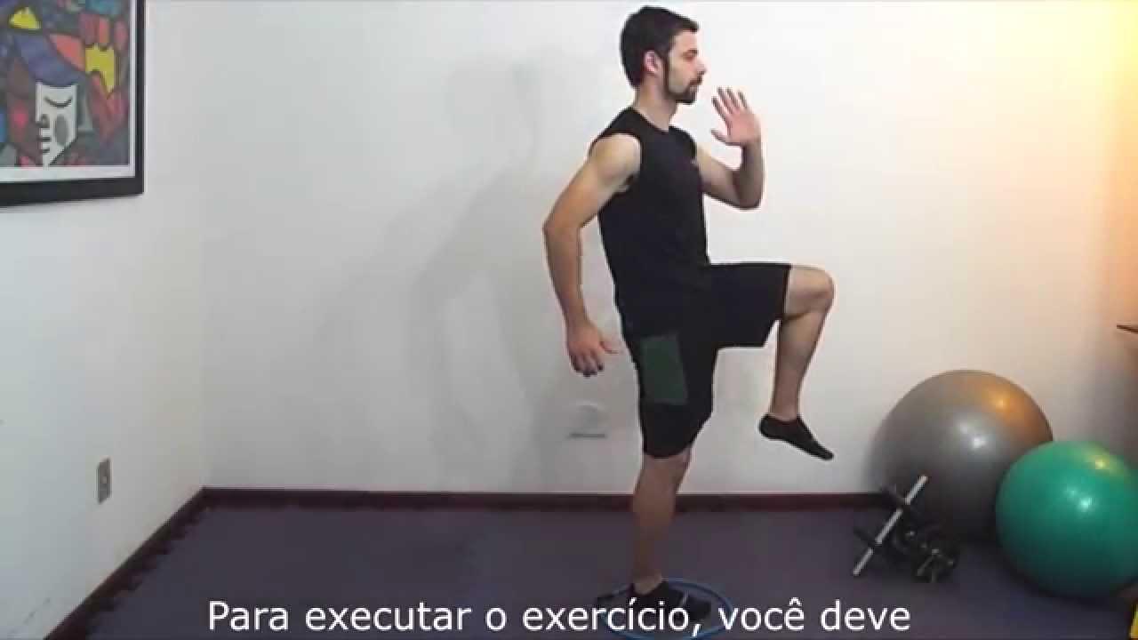 Exerc cios fisioterapia proprioceptivos saltos for Exercicio para interno de coxa