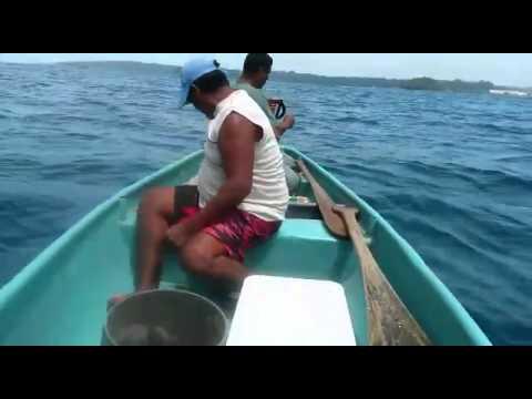 Día de pesca en moin