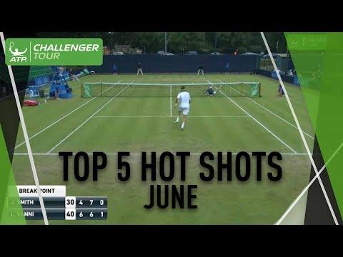 Top Five Challenger Hot Shots June 2017