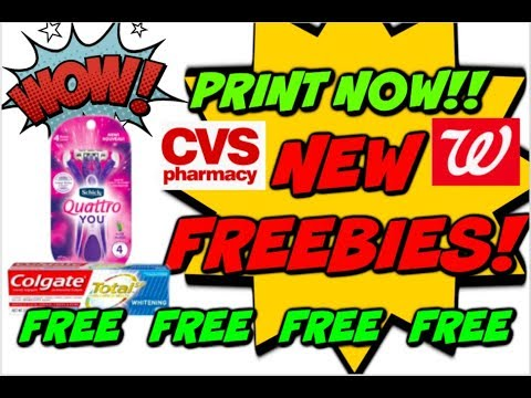 PRINT NOW | NEW FREEBIES & UPDATE DEALS | 🔥 COUPONS!