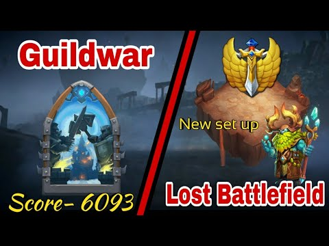 Guildwar | Quick Runs | Lost Battlefield | New Set Up | Castle Clash