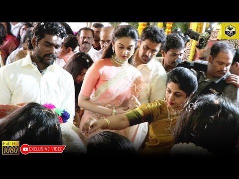 ಅರ್ಜುನ್ ಸರ್ಜಾ ಕುಟುಂಬ ಗೋಮಾತೆಗೆ ಪೂಜೆ ಸಲ್ಲಿಸಿದ ವಿಡಿಯೋ   Arjun Sarja Family   Dhruva Sarja Engagement