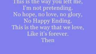 happy ending- Mika lyrics