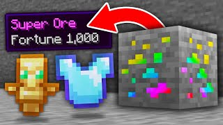 Minecraft, But Every Ore Is Super...