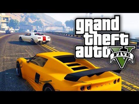 GTA 5 Online - STOLEN CARS & STREET RACES! (GTA V Online)