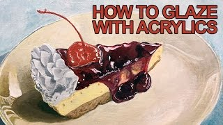 Video Painting Lesson - How to Glaze With Acrylics download MP3, 3GP, MP4, WEBM, AVI, FLV Maret 2018