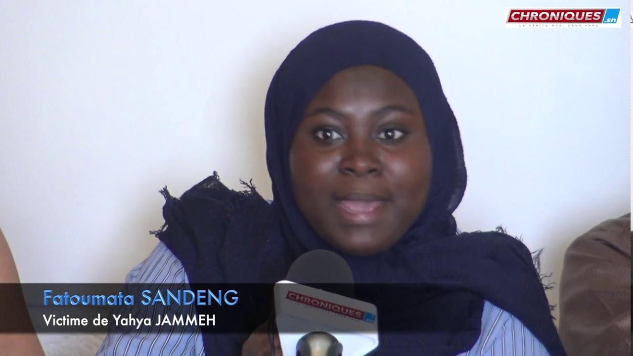 Deuxième victime de Yahya JAMMEH:Fatoumata SANDENG se prononce ''Il  a tué mon père...
