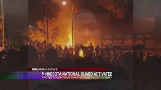 Minnesota National Guard deployed to Minneapolis