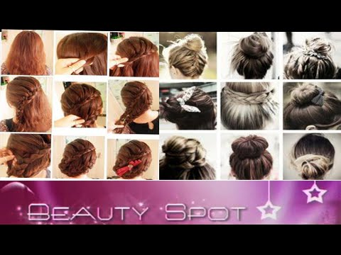 Hair Care Tips and Different types of Hairstyles - YouTube