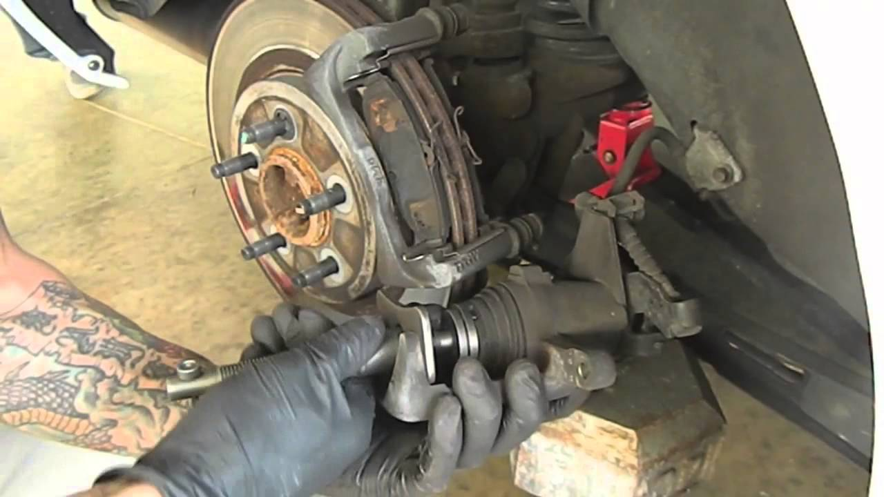how to change ford mustang rear brakes 2005 2006 2007 diy [ 1280 x 720 Pixel ]