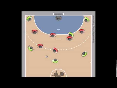 Zone Defense - Handball