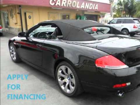 2005 bmw 645 ci convertible youtube. Black Bedroom Furniture Sets. Home Design Ideas