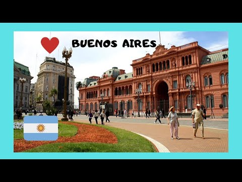 BUENOS AIRES, a tour of beautiful Plaza de Mayo (ARGENTINA)