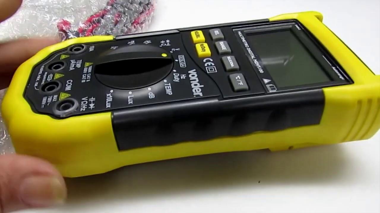 Galo amarelinho  o novo multímetro da Eletrônica Espacial de Natal    #326